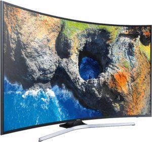 Телевизор Samsung 55MU6202, 55`` (138 cм), LED, Smart, Извит, 4K Ultra HD