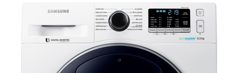 Samsung Eco Bubble AddWash WW80K5410UW/LE